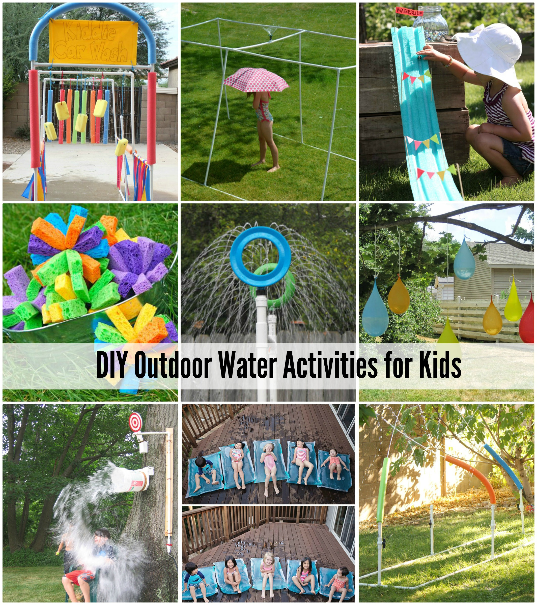 DIY Projects For Kids  25 Water Games & Activities For Kids