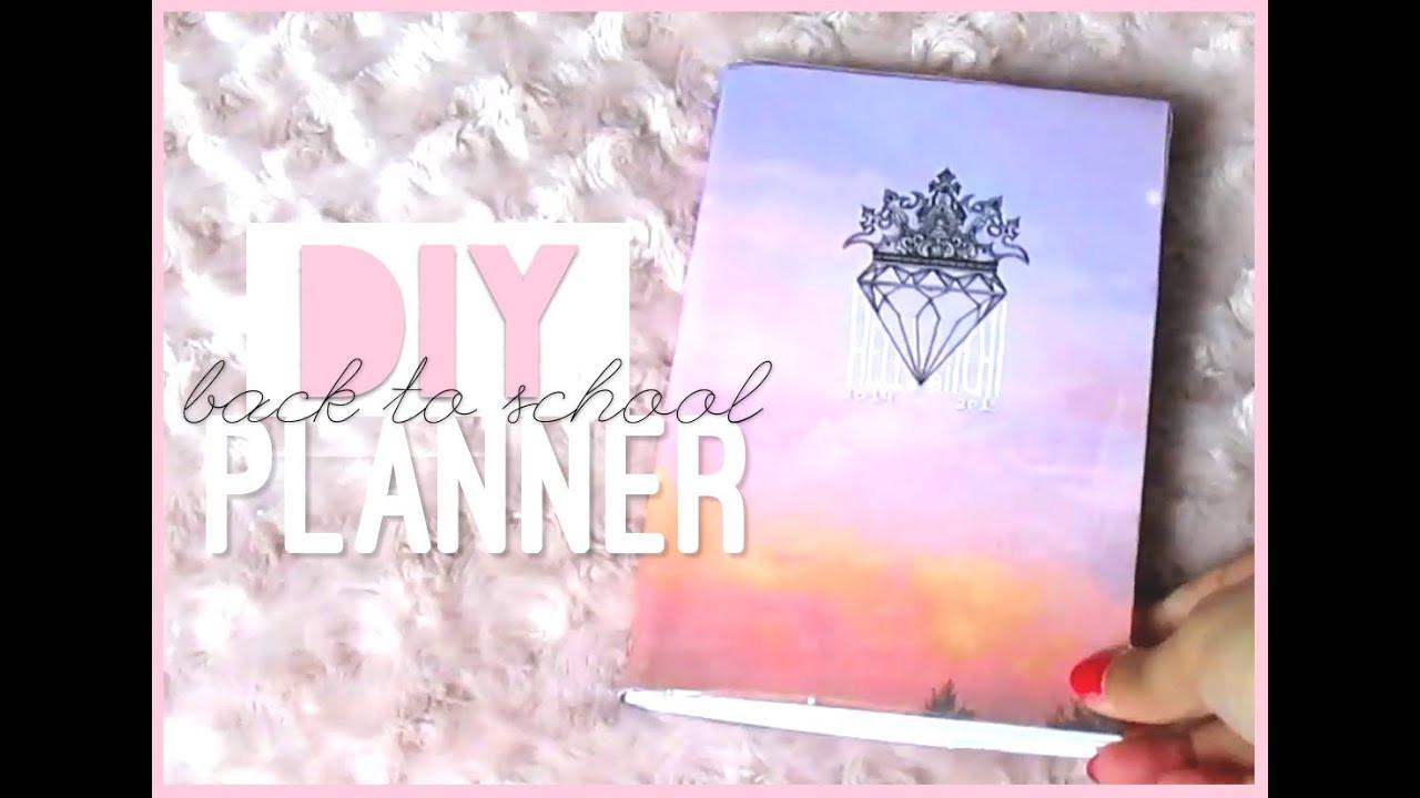 DIY School Planner  Δ DIY