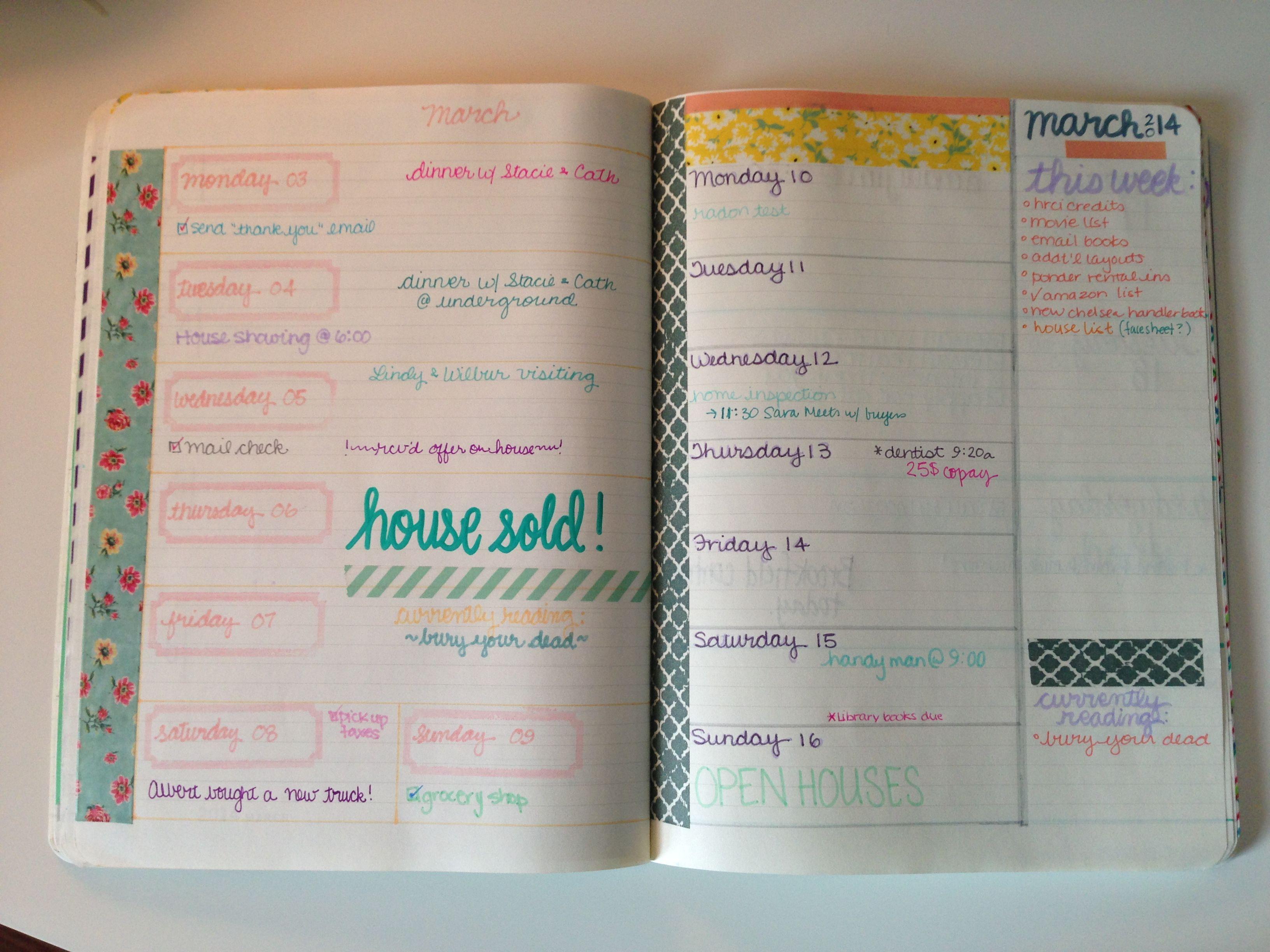 DIY School Planner  Planner Peek Melinda