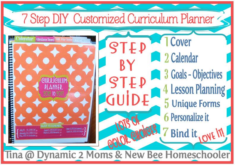 DIY School Planner  5 Days of Tina s 7 Step DIY Curriculum Planner Day 4