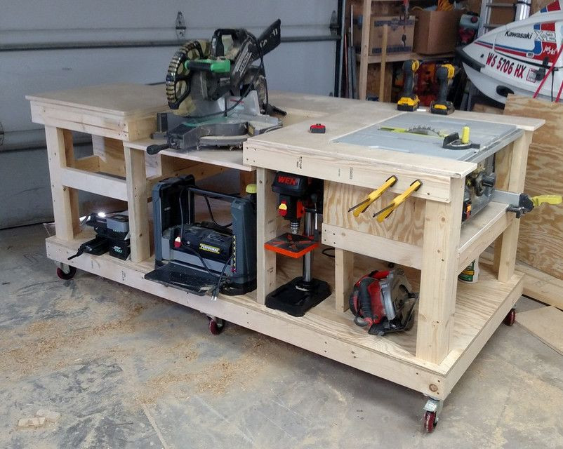 DIY Smart Saw Plans Free  Mobile Workbench PTC Creo Parametric PTC Creo Parametric