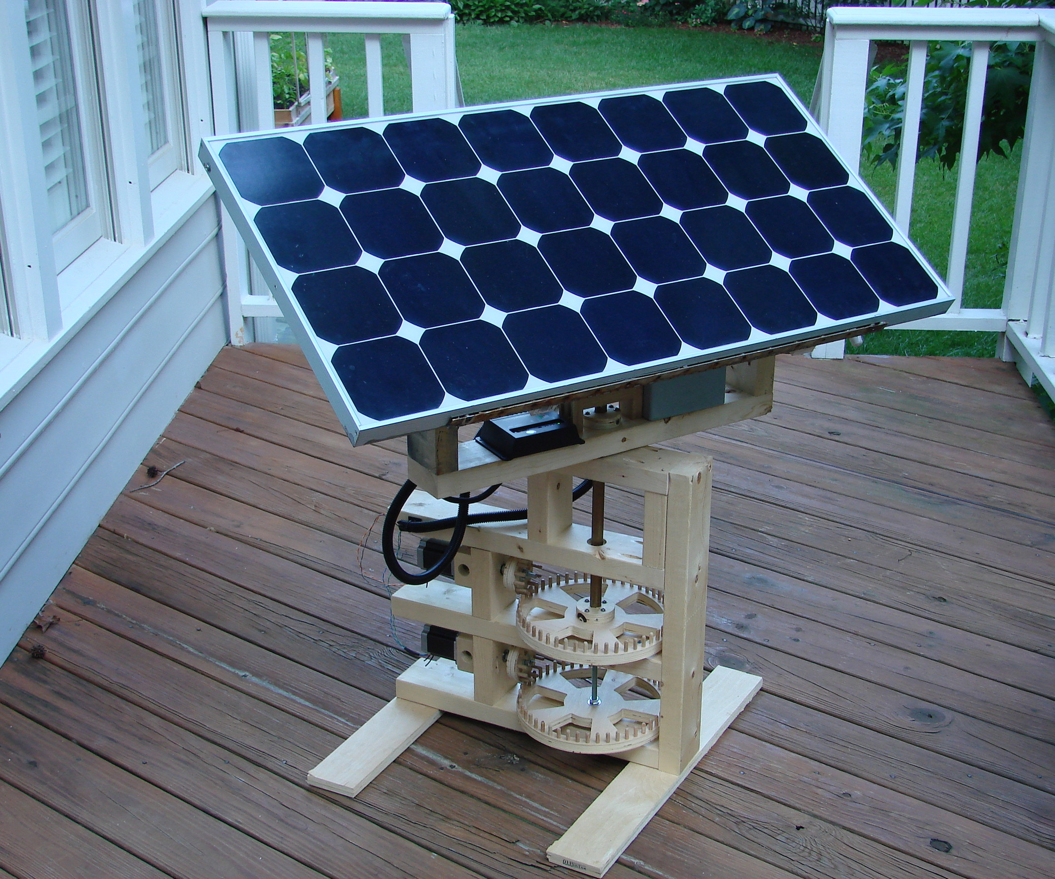 DIY Solar Tracker  Internet Enabled Solar Tracker