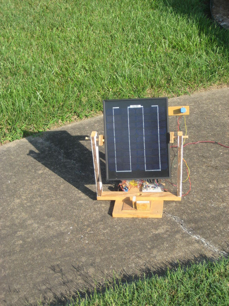 DIY Solar Tracker  Portable Solar Tracker No Microcontroller Required 21