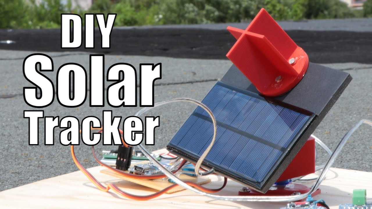 DIY Solar Tracker  DIY Solar Tracker How much solar energy can it save