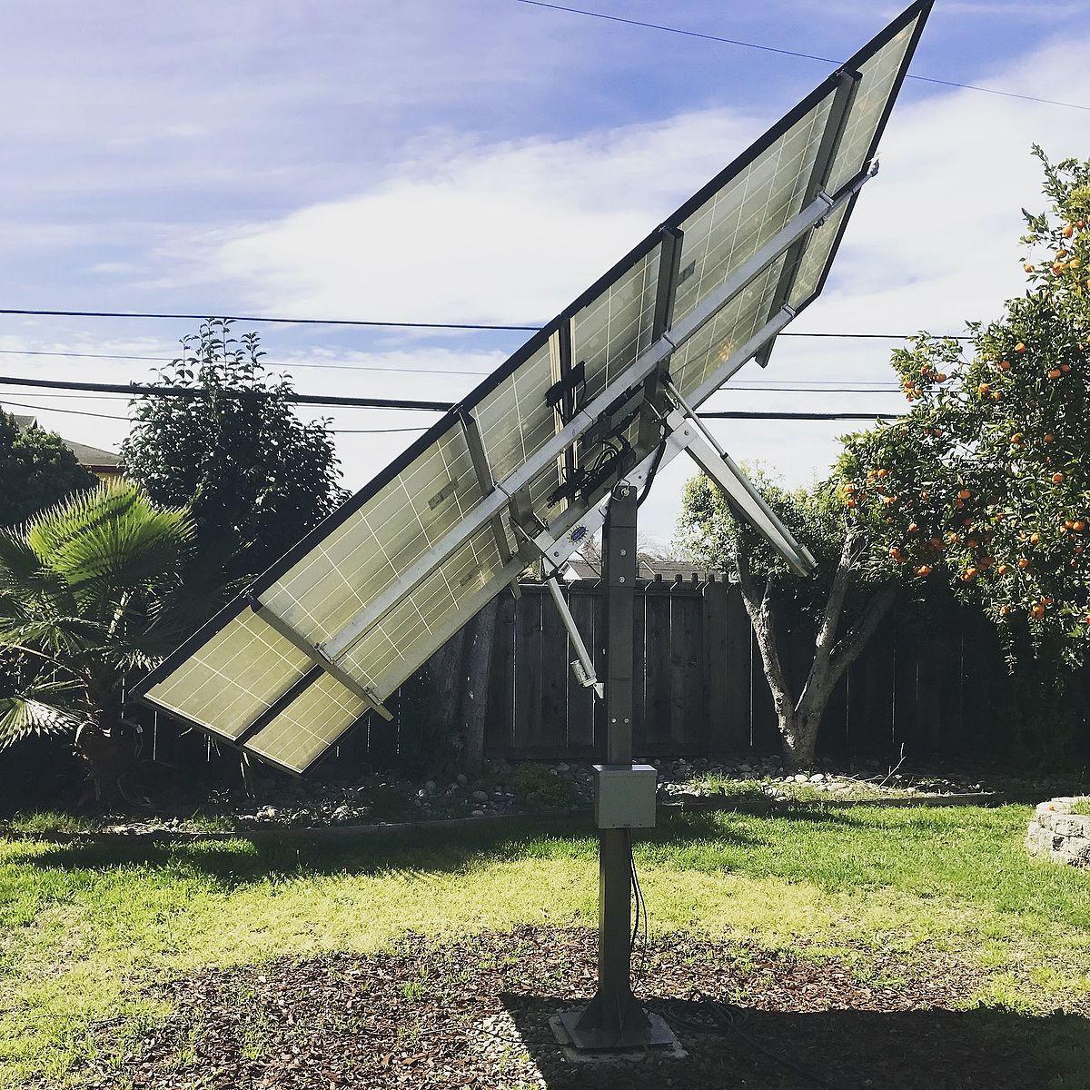 DIY Solar Tracker  Solar tracker