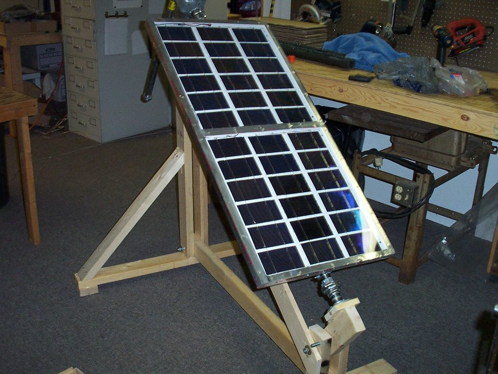 DIY Solar Tracker  How I built a sun tracker for my solar panels