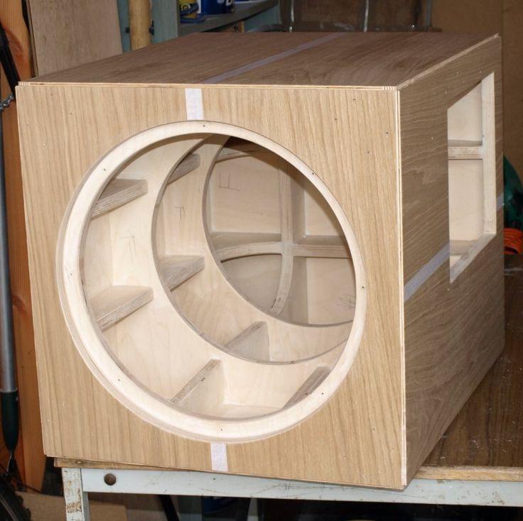DIY Sub Boxes  Top 25 ideas about Speaker box Design on Pinterest