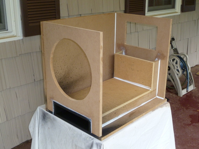 """DIY Sub Boxes  Epik 15"""" DIY Ported Subwoofer Home Theater Forum and"""