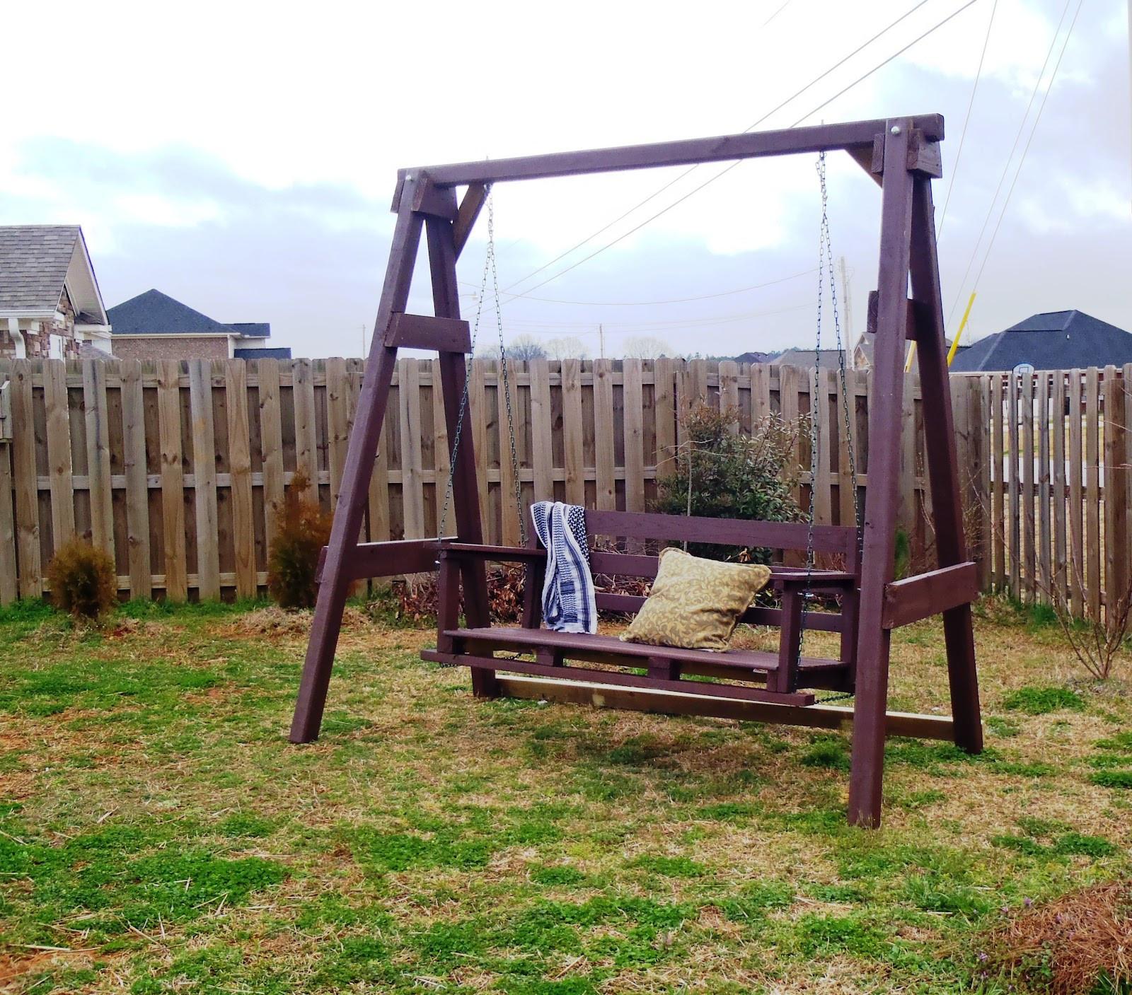 DIY Swing Set Plans  Lazy Liz on Less Swing Set Go