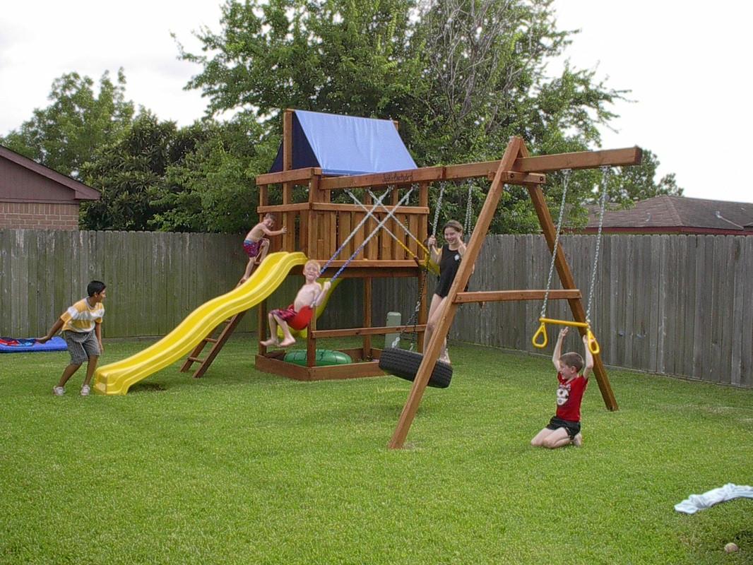 DIY Swing Set Plans  15 DIY Swing Set Build A Backyard Play Area For Your Kids