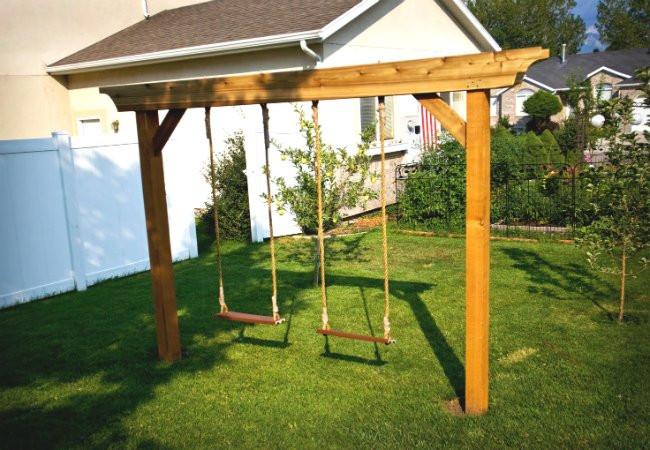 DIY Swing Set Plans  DIY Swing Set 5 Ways to Make Your Own Bob Vila