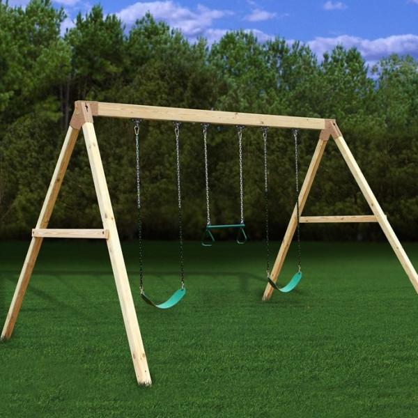 DIY Swing Set Plans  Wood Idea Diy Wooden Swing Set Plans Free PDF Plans