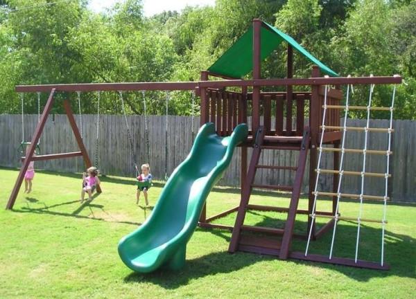 DIY Swing Set Plans  diy swing set