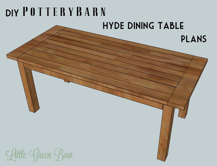 DIY Table Plan  Diy Dining Table Plans PDF Woodworking
