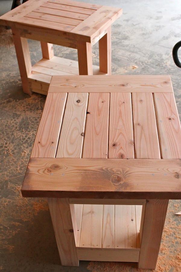 DIY Table Plan  DIY Sofa Table Plans Ana White Wooden PDF adjustable