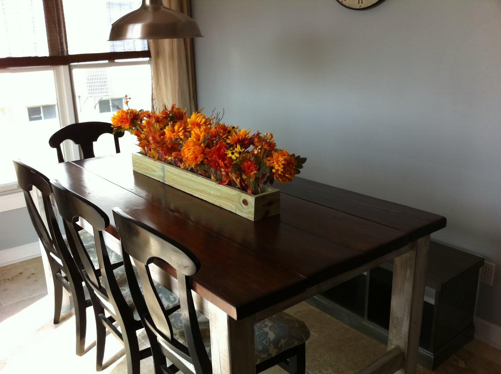 DIY Table Plan  The Quaint Cottage DIY Rustic Farmhouse Table Finish