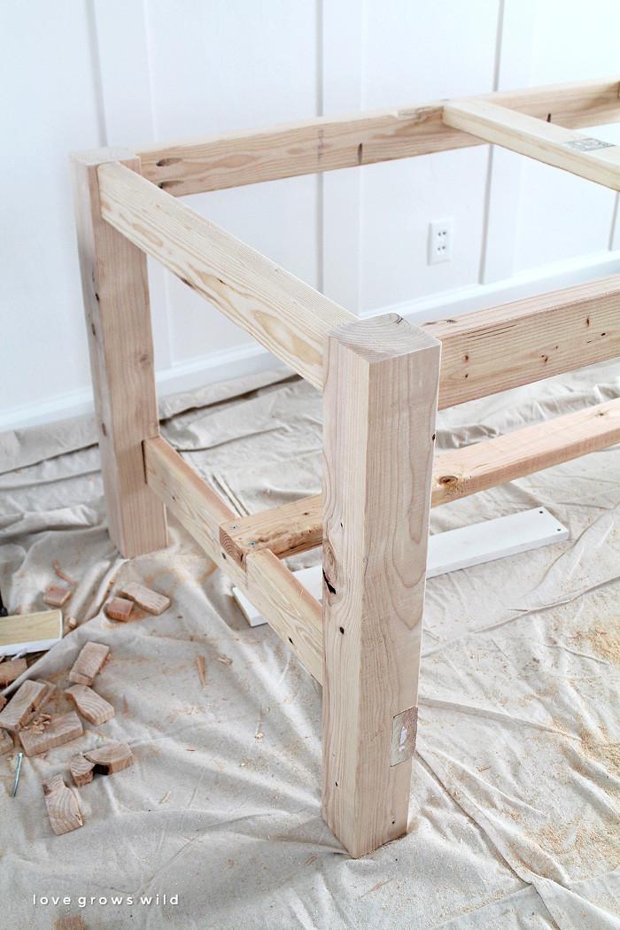 DIY Table Plan  DIY Farmhouse Table Love Grows Wild