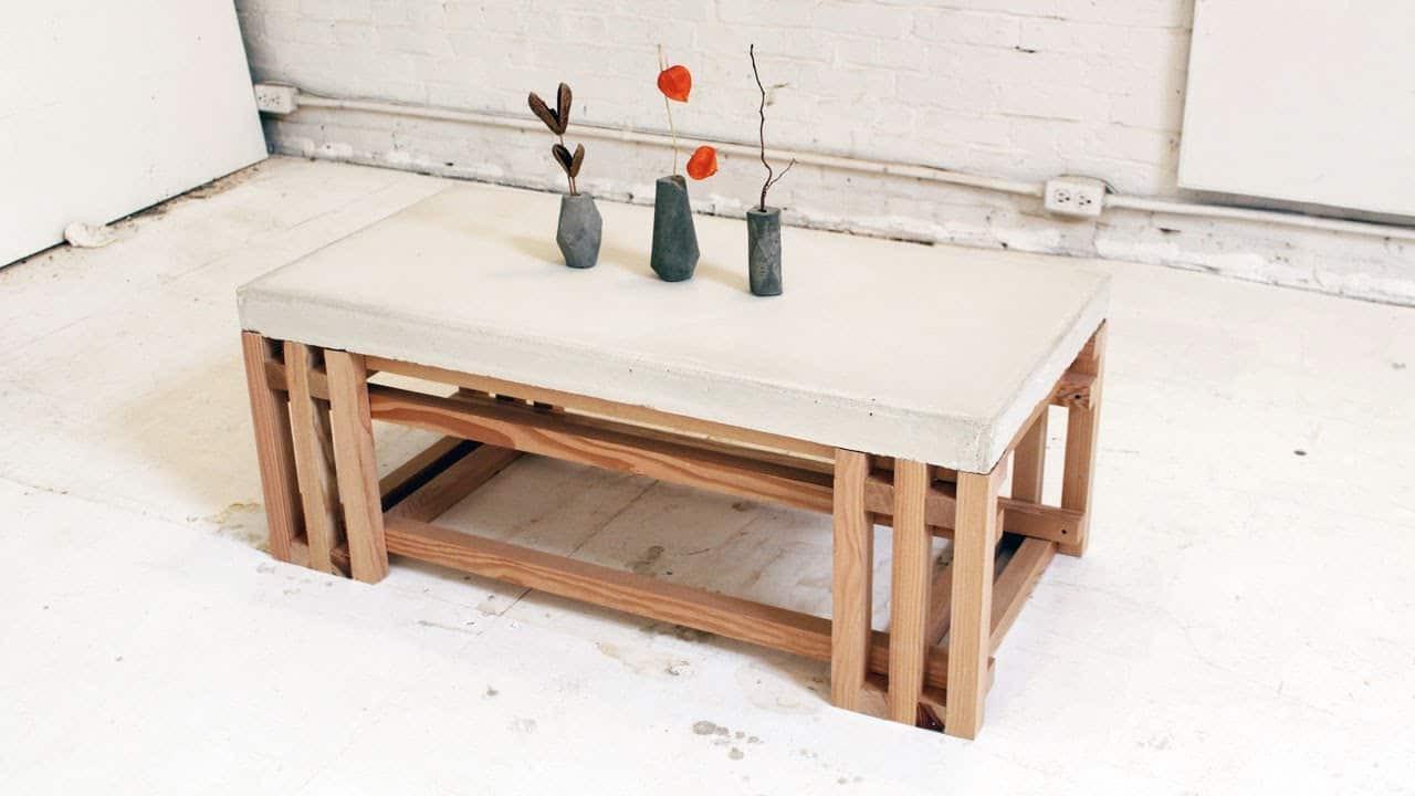 DIY Table Plan  101 Simple Free DIY Coffee Table Plans