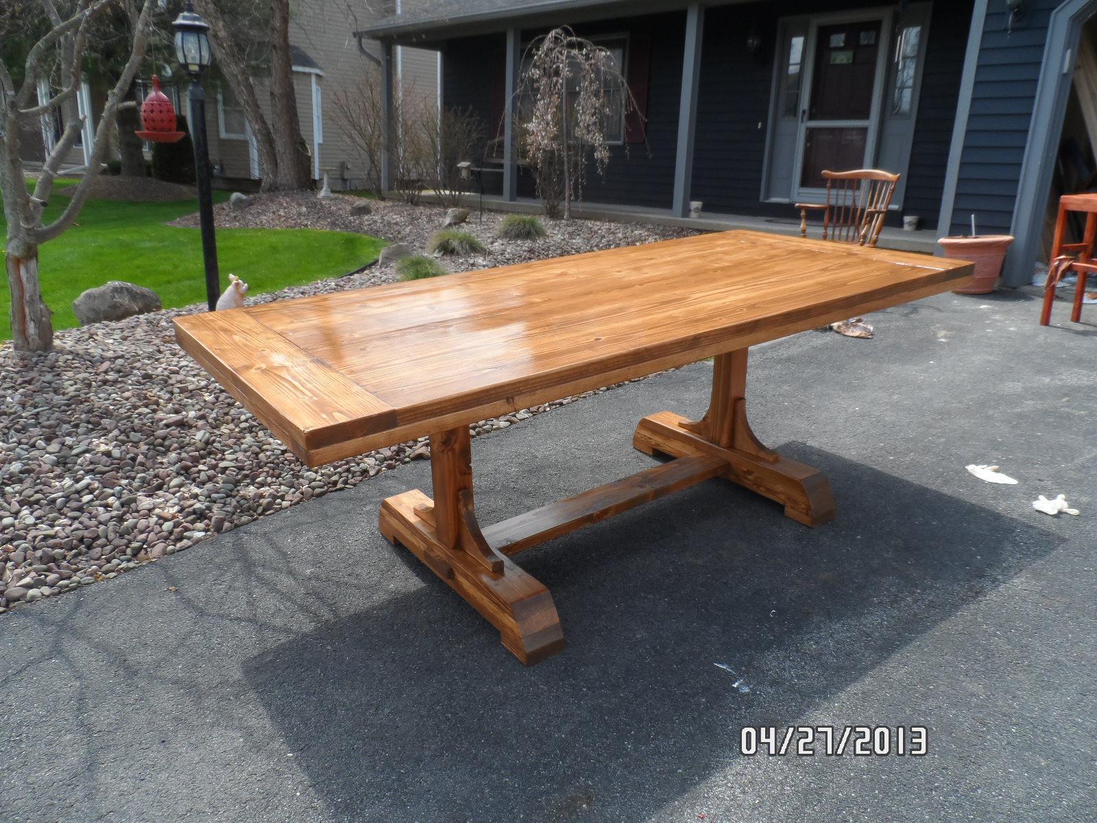 DIY Table Plan  Woodwork Dining Table Plans Diy PDF Plans