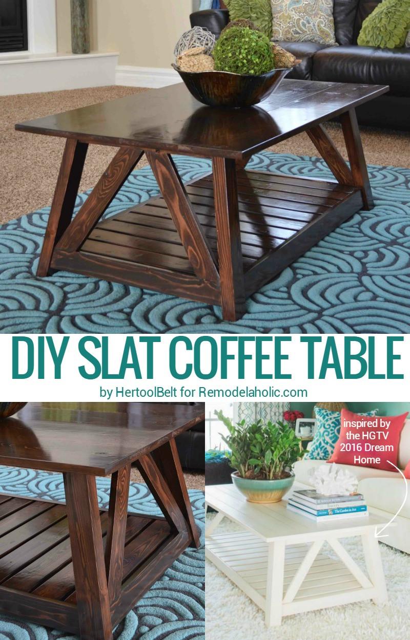 DIY Table Planners  Remodelaholic