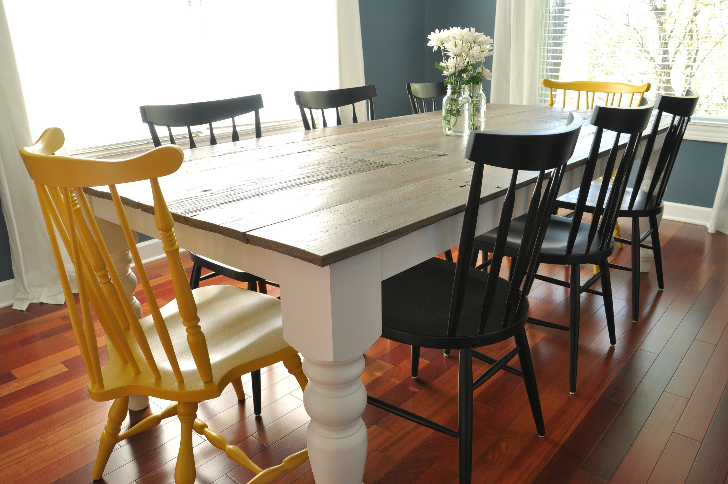 DIY Table Planners  7 DIY Farmhouse Tables with Free Plans