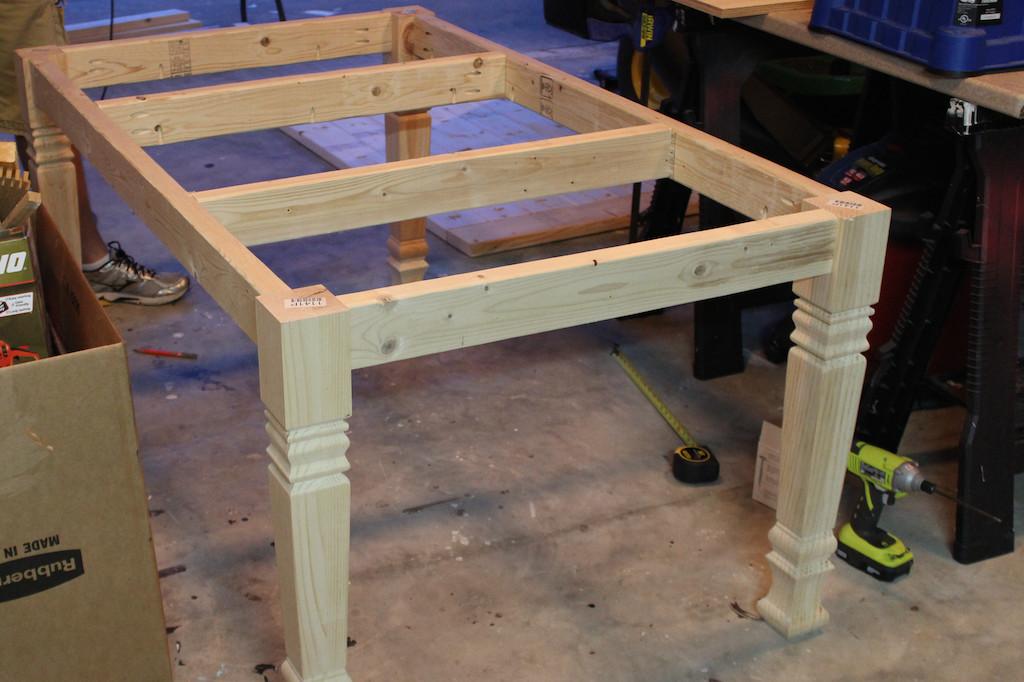 DIY Table Planners  DIY Farmhouse Table Free Plans