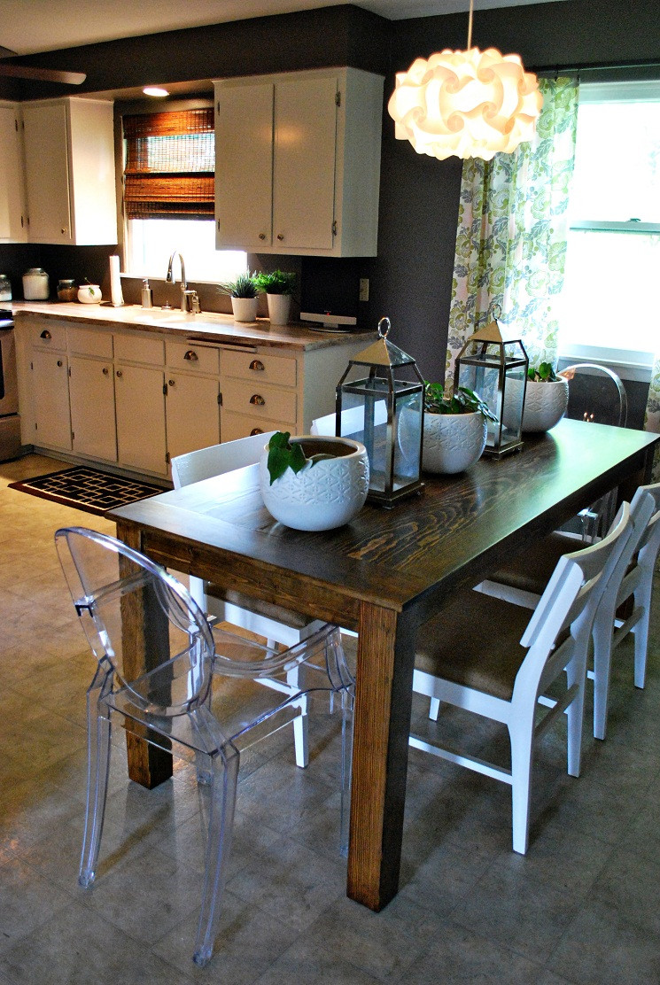 DIY Table Planners  How to Build a Dining Room Table 13 DIY Plans