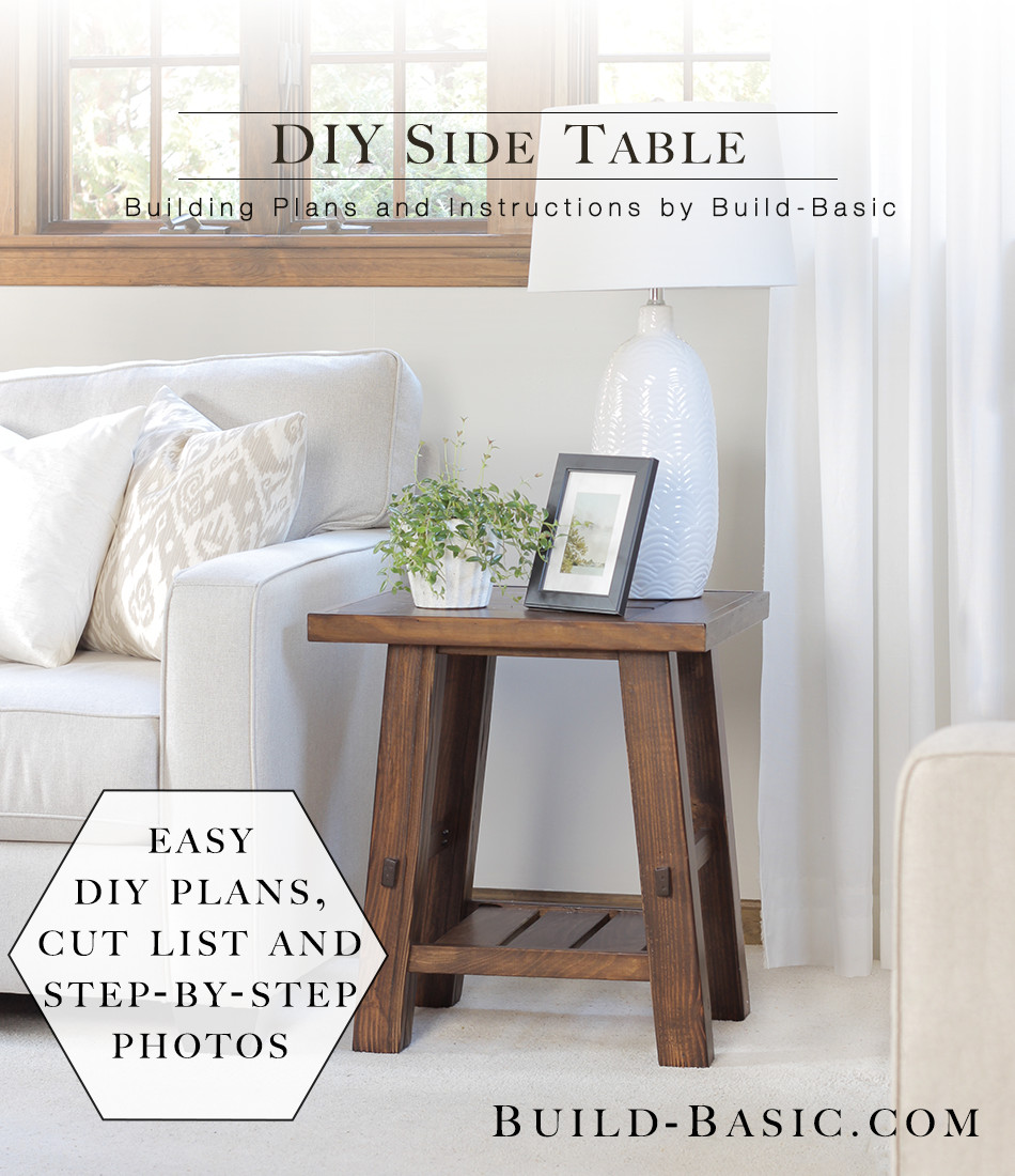 DIY Table Planners  Build a DIY Side Table ‹ Build Basic