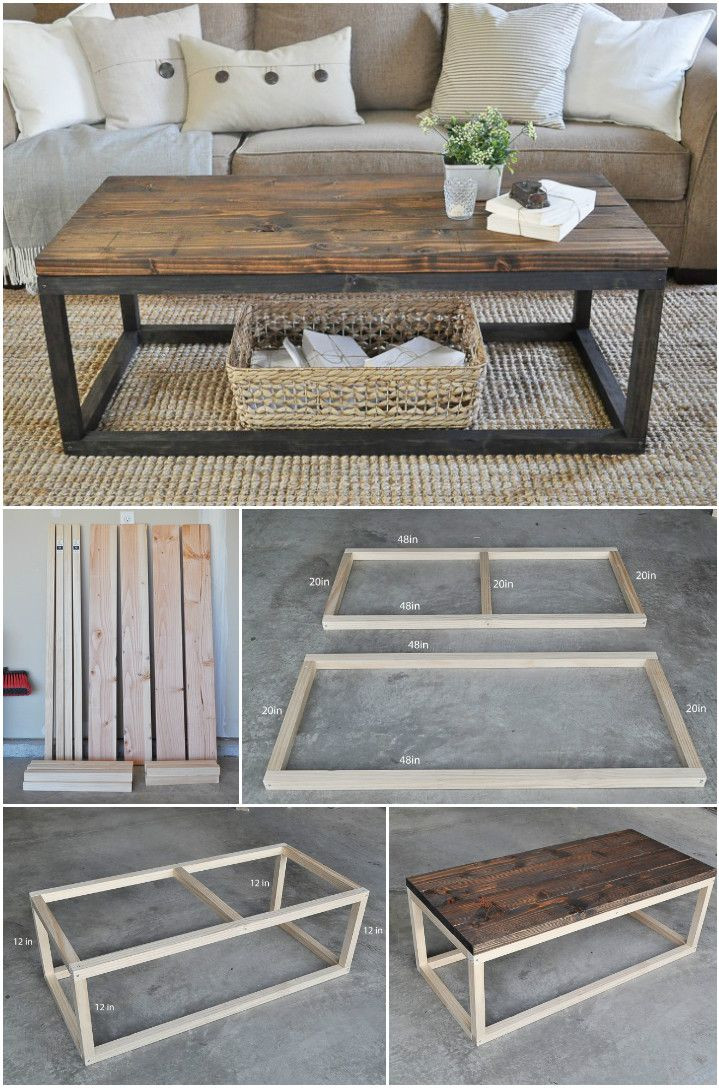 DIY Table Planners  20 Easy & Free Plans to Build a DIY Coffee Table
