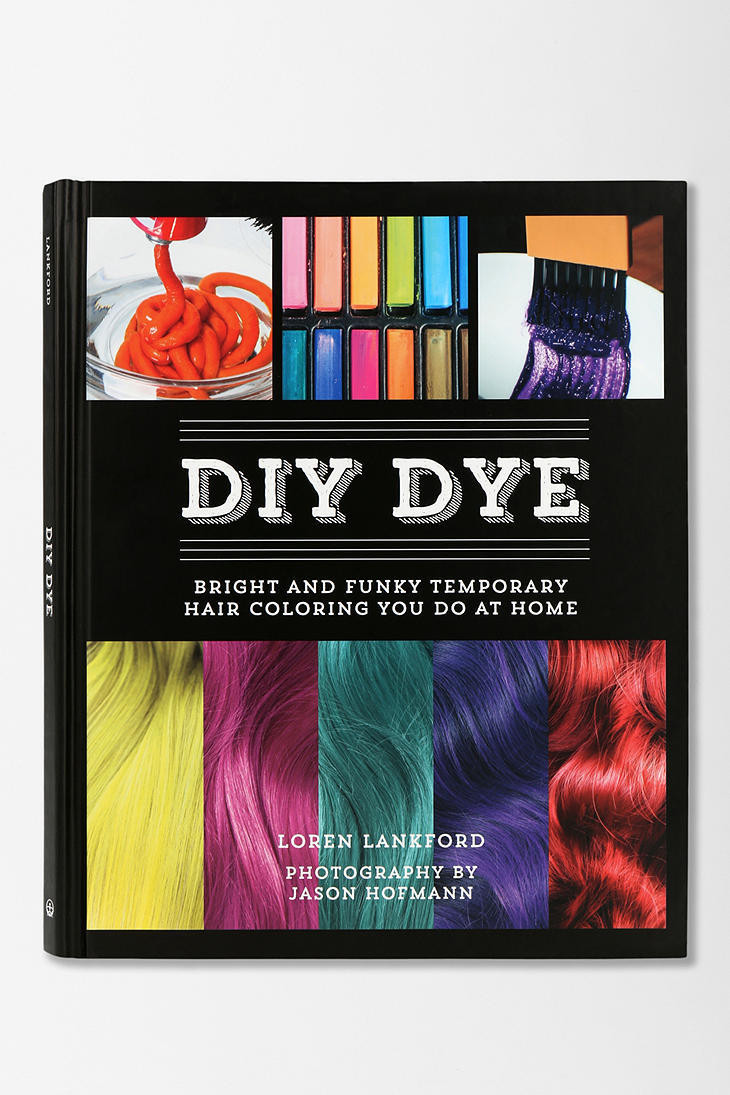 DIY Temporary Hair Dye  DIY Dye Bright and Funky Temporary Hair from Urban Outfitters