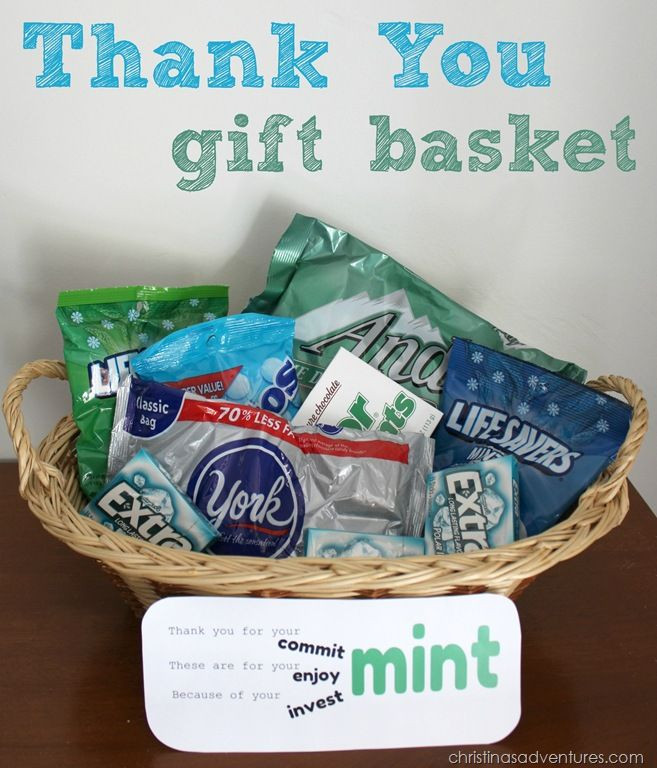 Diy Thank You Gift Basket Ideas  Thank you t basket Projects Tips & Tricks