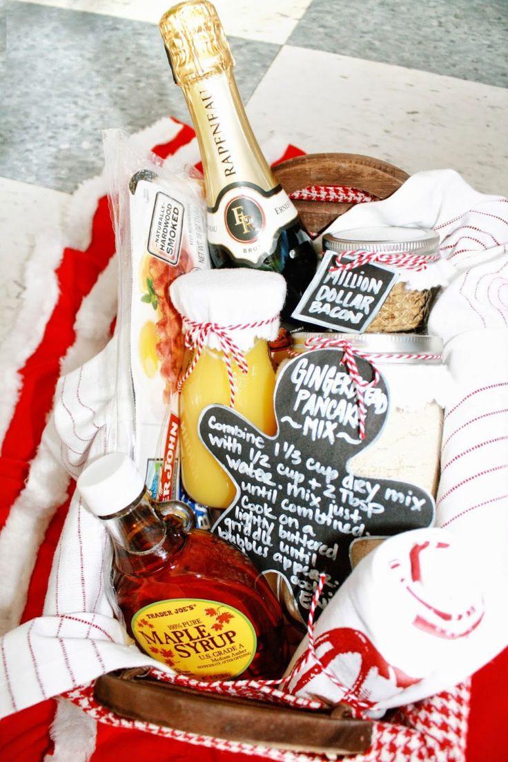 Diy Thank You Gift Basket Ideas  1000 ideas about Breakfast Gift Baskets on Pinterest