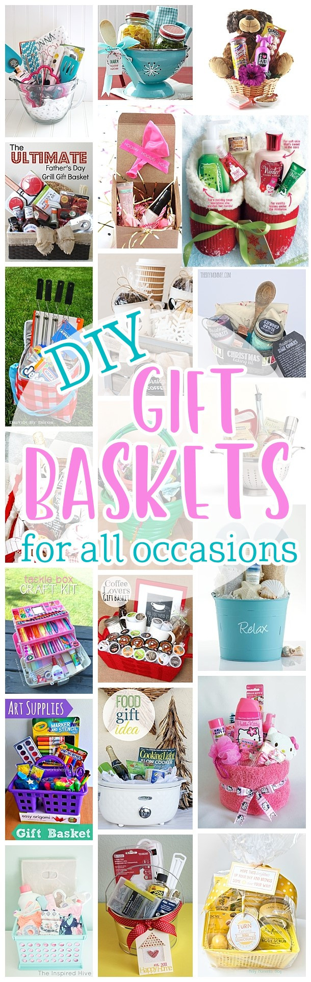Diy Thank You Gift Basket Ideas  Do it Yourself Gift Basket Ideas for Any and All Occasions