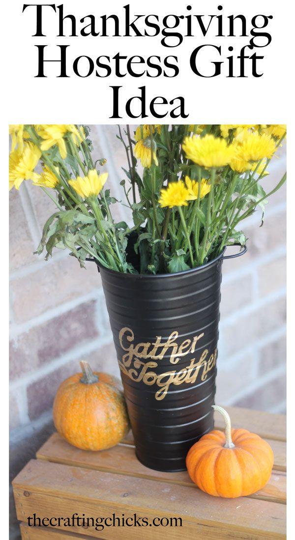 DIY Thanksgiving Gifts  DIY Thanksgiving Hostess Gift Idea