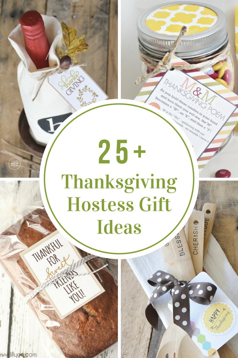 DIY Thanksgiving Gifts  Thanksgiving Hostess Gift Ideas The Idea Room