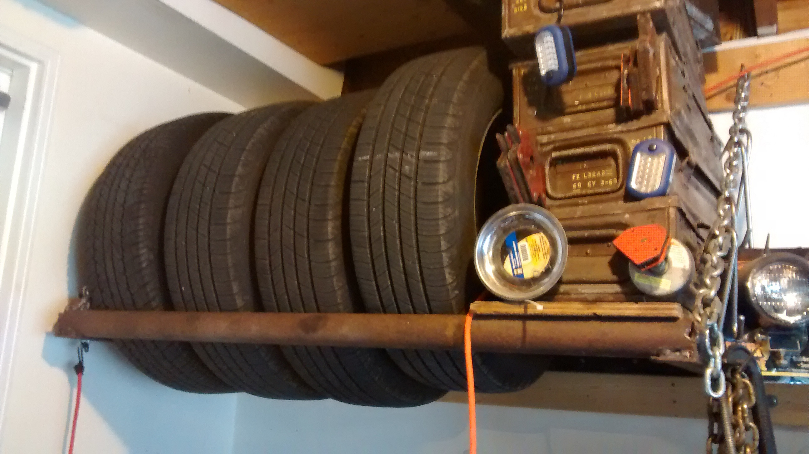 DIY Tire Rack  DIY Tire Rack An Easy Welding Project Enduring
