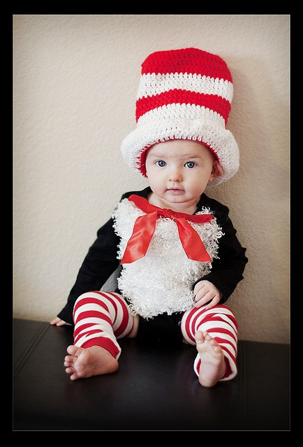 DIY Toddler Cat Costume  Chase s DIY Cat in the Hat Costume
