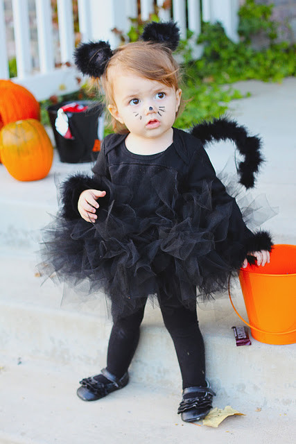 DIY Toddler Cat Costume  KIDS DIY black cat costume Really Awesome Costumes