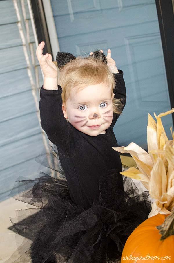 DIY Toddler Cat Costume  Little Black Cat Costume unOriginal Mom
