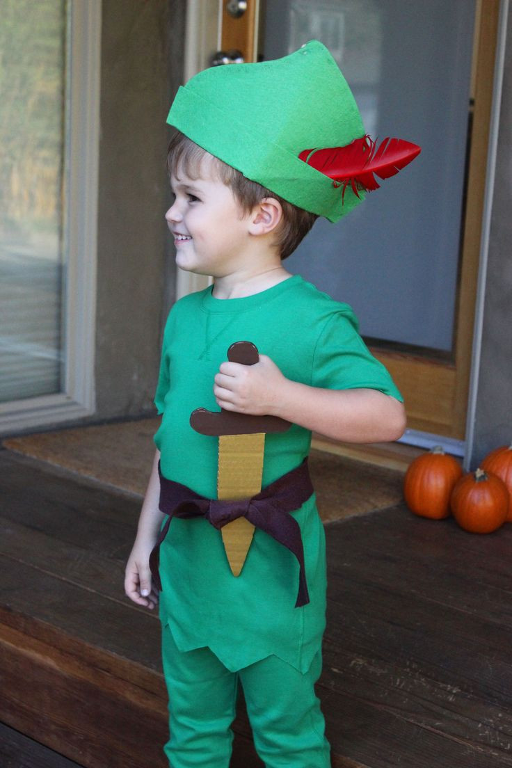 DIY Toddler Peter Pan Costume  17 Best images about Costumes on Pinterest