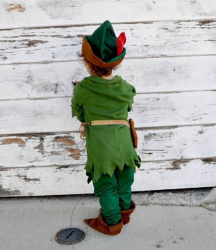 DIY Toddler Peter Pan Costume  110 best Karneval Kostüme Schminke images on Pinterest
