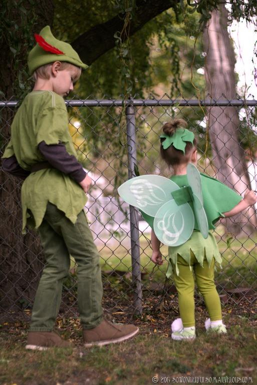 DIY Toddler Peter Pan Costume  25 Darling DIY Disney Costumes