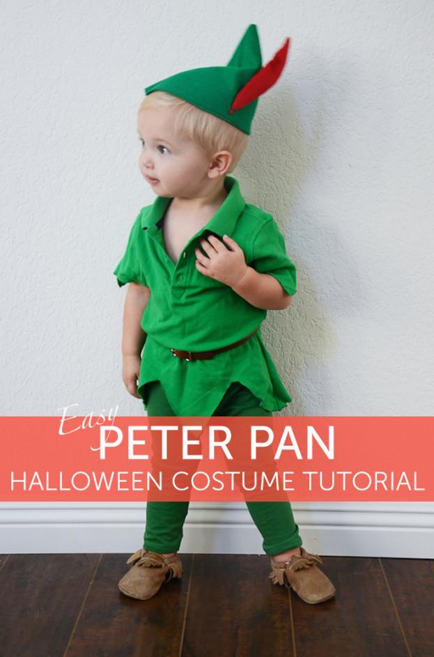 DIY Toddler Peter Pan Costume  DIY Peter Pan Halloween Costume for Kids