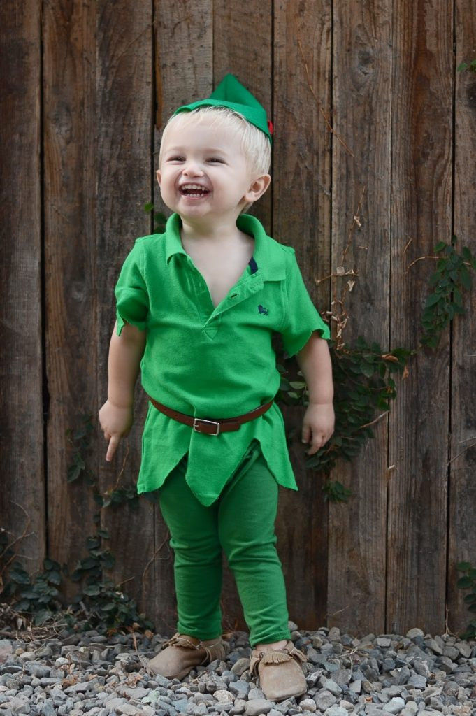 DIY Toddler Peter Pan Costume  Merrick s Art Style Sewing for the Everyday