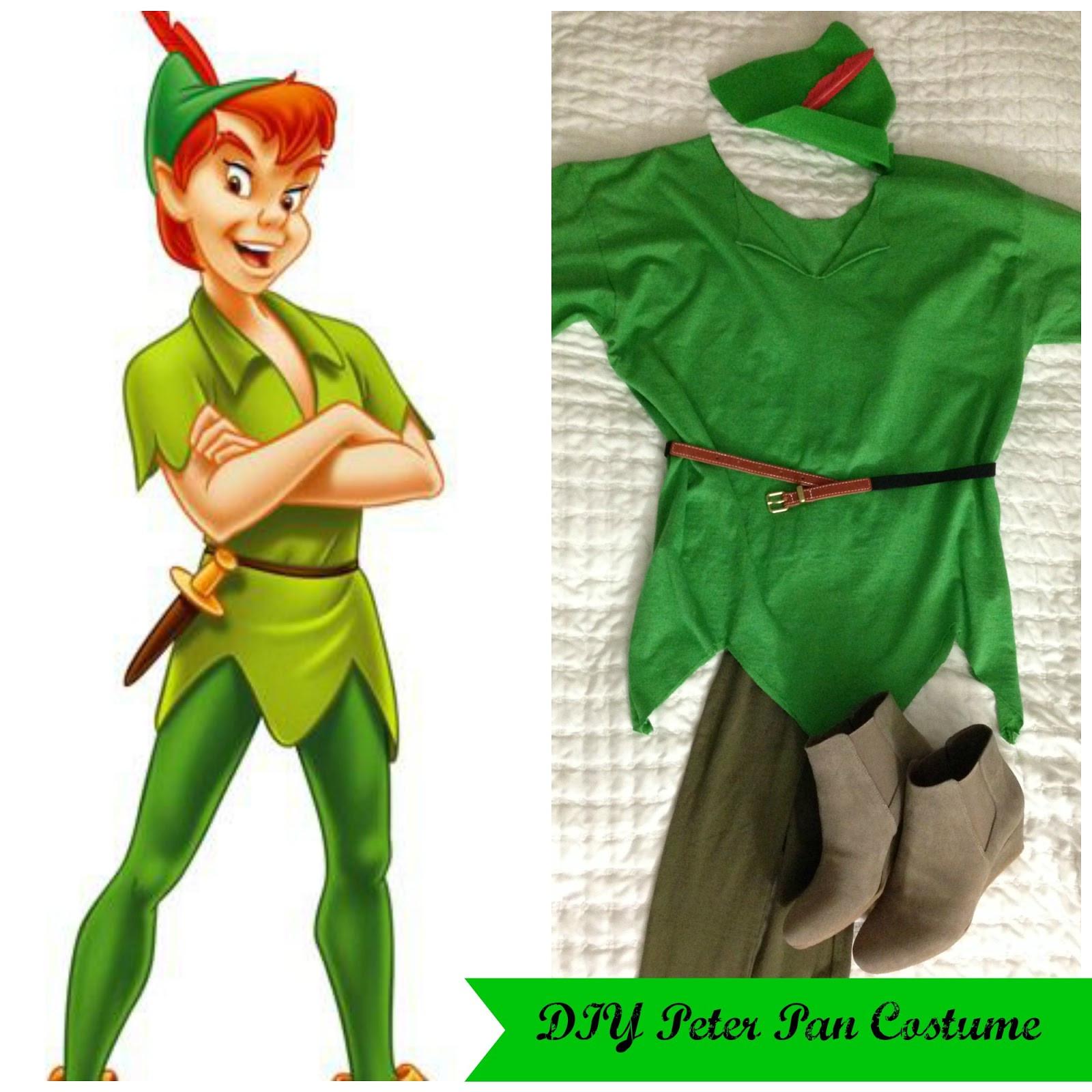 DIY Toddler Peter Pan Costume  Adventures in DIY DIY Peter Pan Group Costumes Peter Pan