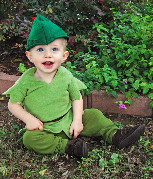 DIY Toddler Peter Pan Costume  DIY Peter Pan Costume