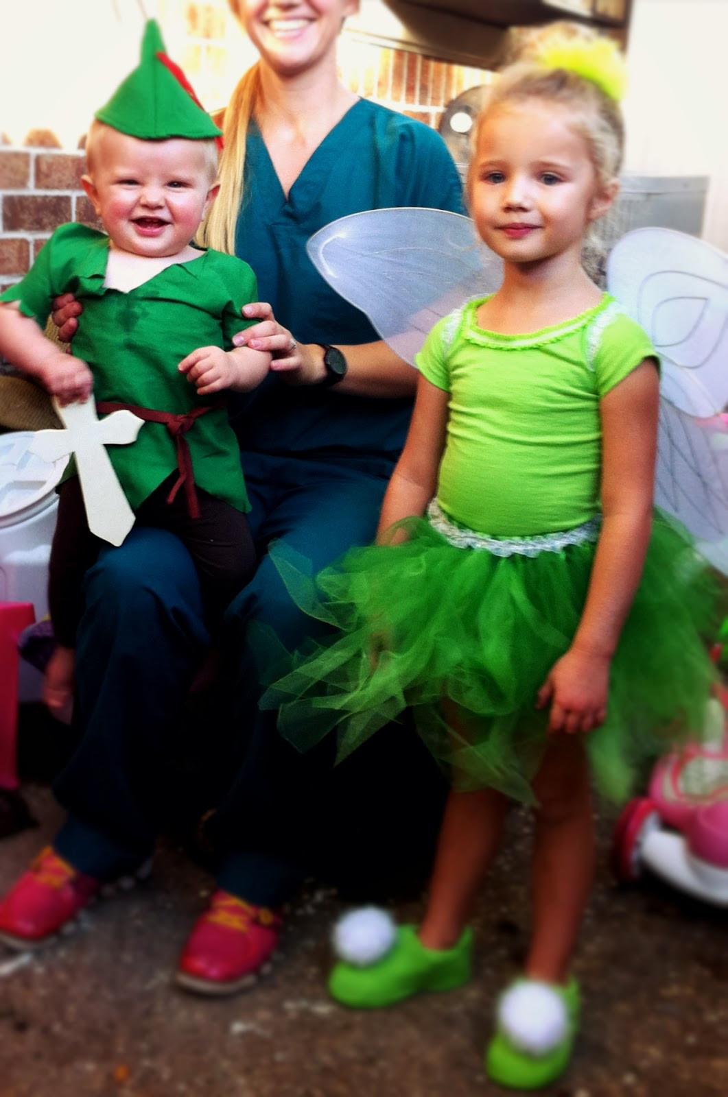 DIY Toddler Peter Pan Costume  LifeWithDaugs DIY Peter Pan and Tinkerbell Costumes