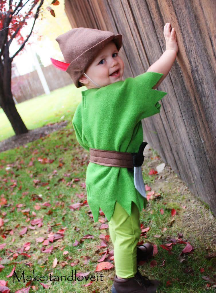 DIY Toddler Peter Pan Costume  Peter Pan Costume