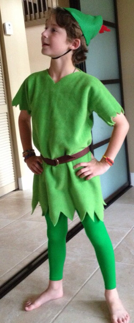 DIY Toddler Peter Pan Costume  Items similar to Peter Pan Inspired toddler child Costume