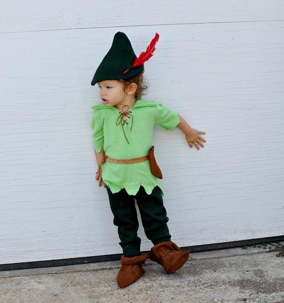 DIY Toddler Peter Pan Costume  Items similar to Reserved listing for Liz Peter pan